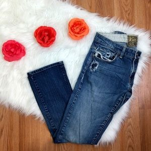Rich and Skinny Distressed Jeans.
